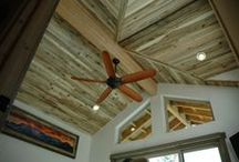 Aspen / Interior siding that is used for paneling.