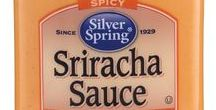 Sriracha Sauce / Our spicy Sriracha Sauce is made with sun-ripened chilies, garlic and smoothed into pure, creamy goodness that will wake up any dish.  #SilverSpringFoods #SrirachaSauce @SilvSprngFoods #GIVEITZING™