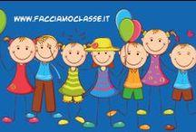 Progetto Facciamo Classe - Gravina in Puglia / www.facciamoclasse.it nasce dall'esigenza di creare un punto di riferimento per genitori, insegnati e operatori scolastici col fine ultimo di migliorare l'attività didattica dei piccoli alunni.