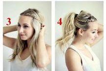DIY coiffure