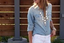 Trends We Love:  Chambray / http://glamourfarms.com/  ~follow us on Facebook, Instagram, & Twitter!