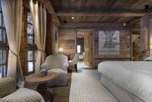 Chalet en bois / Chalet en bois / Wooden cabin / Cottage / Nature