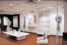 Finissantes 2015 / Exposition de fin d'études des finissantes en design et impression textile.
