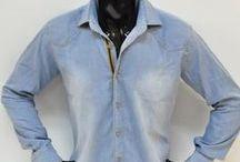 Koszule Jeansowe Męskie / Gdzie kupić hurtowo Koszule Jeansowe Męskie, koszule męskie, koszule jeans, jeans, hurt, hurtownia