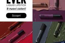 EVER Liquid Lipstick | Winter Shades / EVER Liquid Lipstick | https://wemakeup.it/ever.html