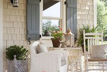 Curb Appeal / Hospitality starts at the front door. / by Amanda @ Our Storied Home