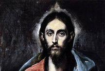 Apostolados / Seis apostolados son de los que se tiene constancia realizó el Greco. Tres completos en la Catedral de Toledo, en el Museo de Bellas Artes de Asturias y en el Museo del Greco