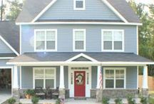 House Exteriors / by OurStoriedHome