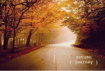 """Autumn is my favorite color / """"Autumn is the hardest season. The leaves are all falling, and they're falling like they're falling in love with the ground."""""""