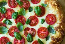 pizza / by Kim Hannaford