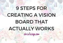 Vision/Inspiration Board / Looking into the future