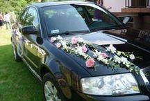 Moje ślubne dekoracje aut / Kwiatowe dekoracje aut do ślubu... https://perhaps4you.blogspot.com