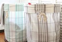 Laundry Room / Crisp and clean laundry room designs with a farmhouse-vibe. / by Amanda @ Our Storied Home