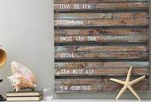 DIY Wall Art / Gorgeous art you can make yourself at home!