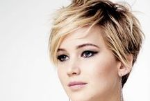 The Pixie / The beautiful pixie crop is one of the most striking hairstyles. Like a lot of good cuts it can enhance your cheekbones beautifully. The pixie is a real hit on a pretty face.