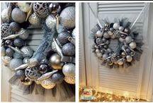Moje dekoracje Boże Narodzenie / Wianki, stroiki, kompozycje, dekoracje... świąteczne https://www.facebook.com/agajoka