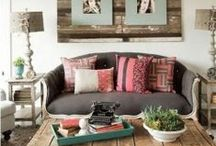 Living Rooms & Family Rooms / by Amanda @ Our Storied Home