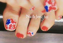 Nail Art pedicure / ペディキュアデザイン