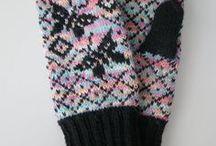 Neulonta/ Knitting