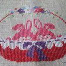 Ristipistoja/ Cross stitching