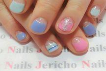 short nail design(短いネイル)