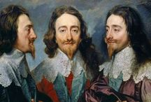 King V Parliament ~ England 1625-1660: Charles I V Oliver Cromwell: The English Civil War / The English Civil War started in 1642 when Charles I raised his royal standard in Nottingham. The split between Charles and Parliament was such that neither side was willing to back down over the principles that they held and war was inevitable as a way in which all problems could be solved. The country would be torn apart. / by Amelia Watson