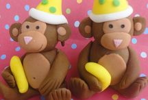 Charlie's 1st bday ideas / Party cakes & decorations