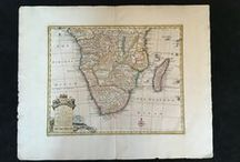 My stock: Maps of Africa / A selection of antique maps for sale/or sold