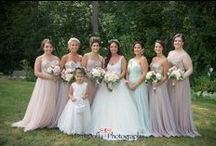 Bridesmaids / Dress inspo for your maid of honor & bridesmaids... Choose all one color or mix and match!