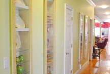 organization   storage / Ideas for organizing and storage both inside and outside