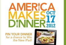 America Makes Dinner / Recipes from America Makes Dinner -- a national effort to help families cook dinner at home more often