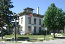 Cedar Falls Historical Society Museums / Pins about the 4 CFHS museum sites