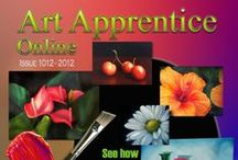 Art E-zine - Online Art Magazine / Online painting magazine with video lessons, painting articles and painting tutorials