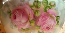 How To Paint Roses / If you love painting roses, or want to learn to paint a specific style rose...here are painting patterns to get you started.