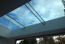 Flat Rooflights - Walk Ons & Openers / www.4seasononline.co.uk - suppliers of bespoke Aluminium bifold door systems, roof lanterns / rooflights / skylights