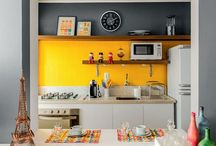 Featuring Yellow / Ways to use yellow as your feature colour for interiors