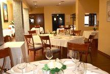 """RESTAURANTE """"La Espadaña"""" / Nuestro restaurante ofrece menú degustación bajo reserva, elaborado por nuestros alumnos. Teléfono de reservas 952717070"""