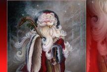 Santa Paintings and Christmas Ornaments in Acrylic / Learn how to paint Christmas Santa and Christmas Ornaments #Santa,#FatherChristmas,#SaintNicholas,#SantaClause,#Christmasdecorations,Christmasornaments,#krisskringle,#Saintnick,