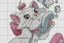 Point de croix : DISNEY / Cross stitch DISNEY