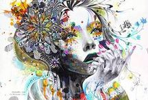 Illustration / A collection of creative illustration inspiration