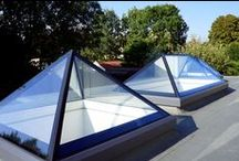 Contemporary Pyramid Roof Lantern - Fixed or Opening / Contemporary Pyramid Roof Lantern - Fixed or Opening - Electric or Manual. For further infomartion call 0330 999 4414 or email info@4seasononline.co.uk