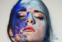 Barevná smršť / Život a barvy patří k sobě.