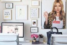 office decor / office decor for the chic girl.