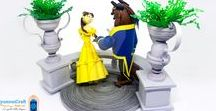 Disney Quilling / All kyomoncraft's Disney quilling creations :-)