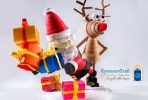 Christmas Quilling / Christmas quilling creations made by Kyomoncraft