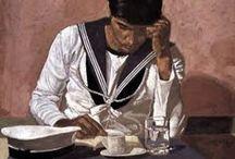 Ελληνες Καλλιτεχνες :: Greek Artists / Συγχρονοι Νεοελληνες Εικαστικοι (19ος - 20ος - 21ος Αιωνας)