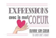Scrapbooking : Expressions et Citations (Expressions and French quotations)