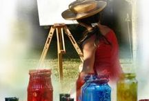 FREE ART LESSONS for Beginners / FREE painting lessons and articles to help Beginners learn painting with acrylics. Acrylic Painting for Beginners #learningpainting,#Beginnersacrylic,#beginnersacrylicpainting -- http://store.artapprenticeonline.com/get-our-newsletter/