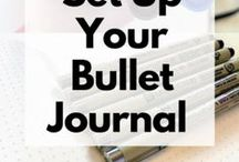 Bullet Journal / how to start a bullet journal, bullet journal, bujo, bullet journal tips, weekly spread, monthly spread, plan with me, happy planner, bullet journal inspiration, bullet journal printables, bullet journal ideas, monthly setup, weekly setup, monthly layouts, weekly layouts