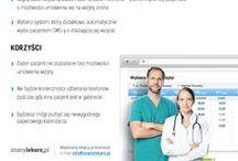 Dla lekarzy / Komplet informacji dla lekarzy i użytkowników serwisu ZnanyLekarz, wyniki ankiet, badań rynku i ciekawostki.